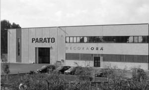 A Parato tapétagyár Aprilia közelében